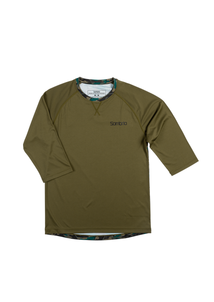 Sombrio Men's Chaos Jersey, Trade Camo (B590110M)