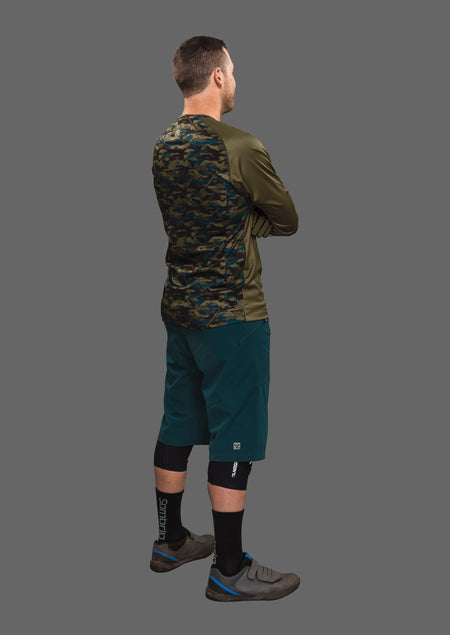 Sombrio Men's Chaos Jersey, Trade Camo Alt (B590110M)