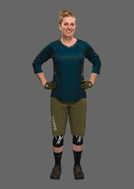Sombrio Women's Vista Jersey, Trade Camo Alt (B590100F)