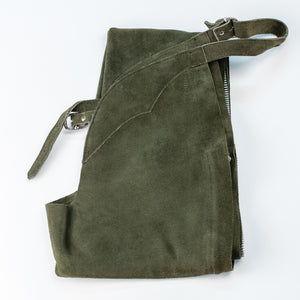 English Schooling Chaps - Hunter Suede