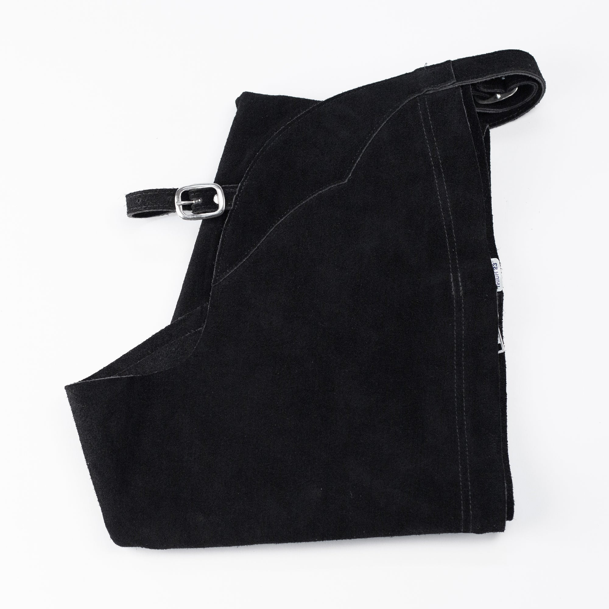 English Schooling Chaps - Black Suede