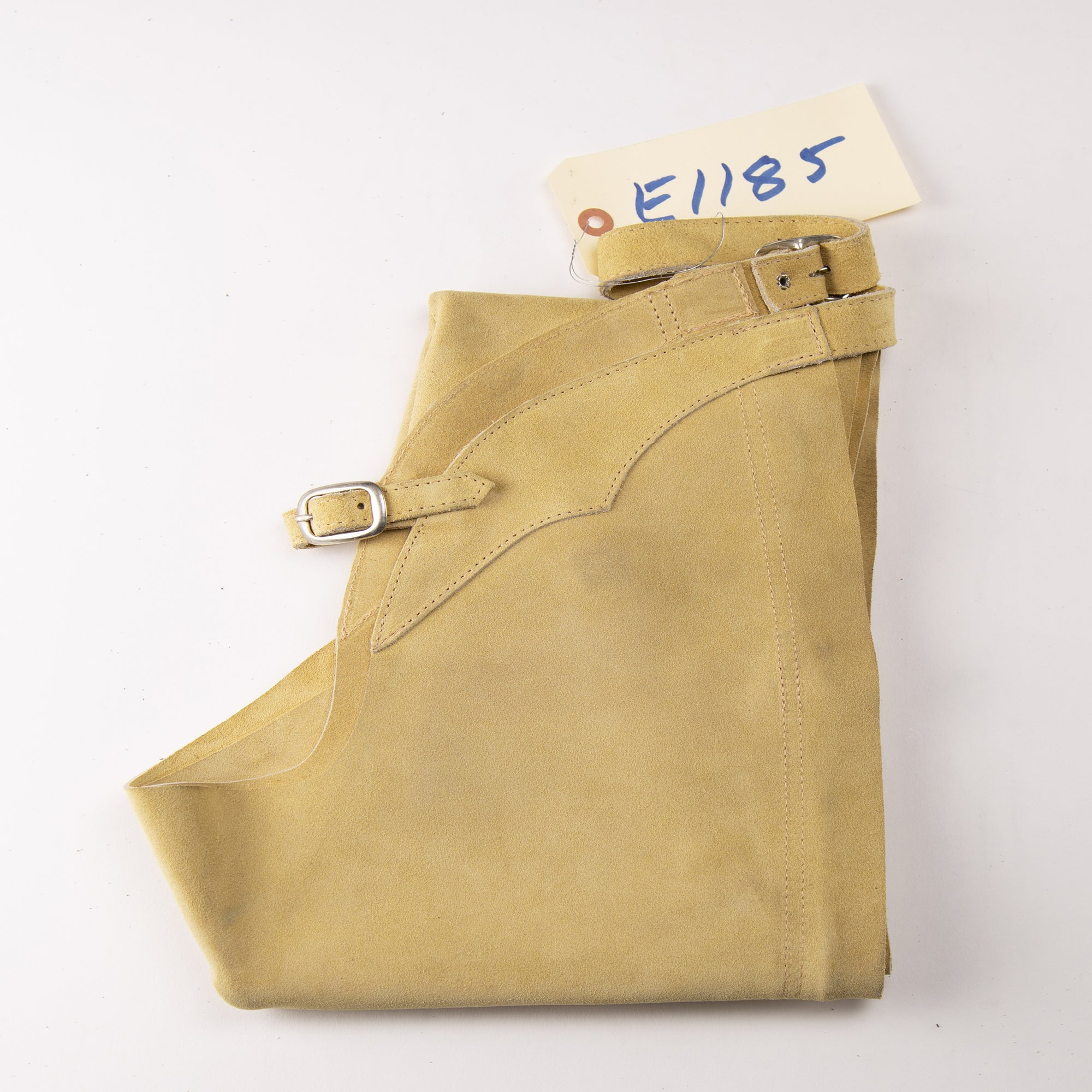 English Schooling Chaps - Sand Suede