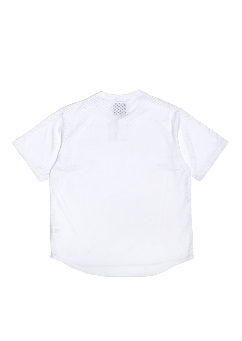 Crusade Mesh Top - White