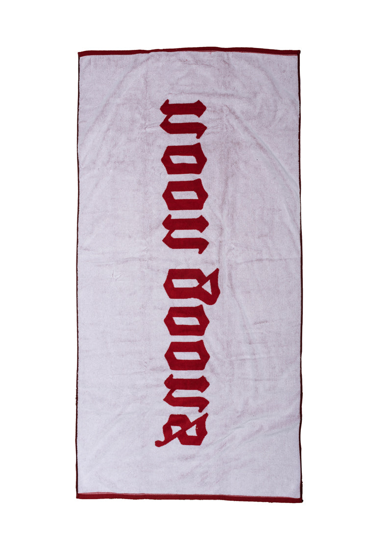 Oe Beach Towel - Red