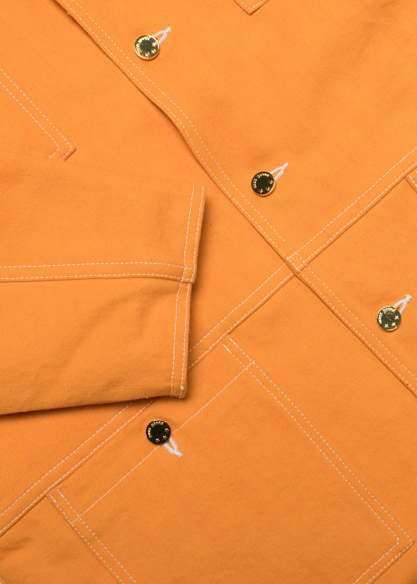 Oxnard Chore Coat - Orange