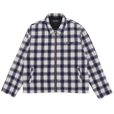 Anderson Flannel Jacket - Navy