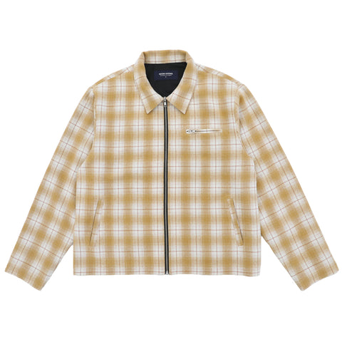 Anderson Flannel Jacket - Light Brown
