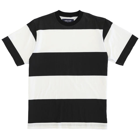 Big Stripe T - Black/ Cream