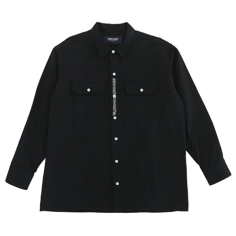 Johnnys Workwear Shirt - Black