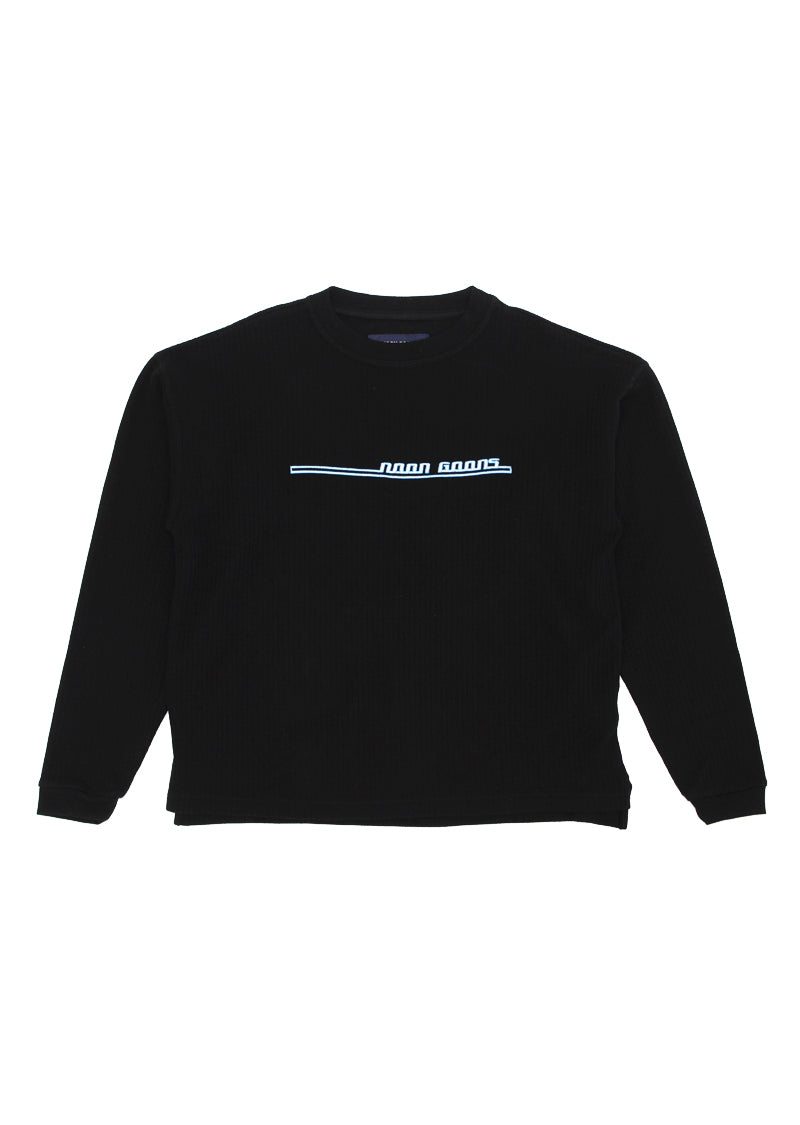 Jetties Longsleeve T - Black