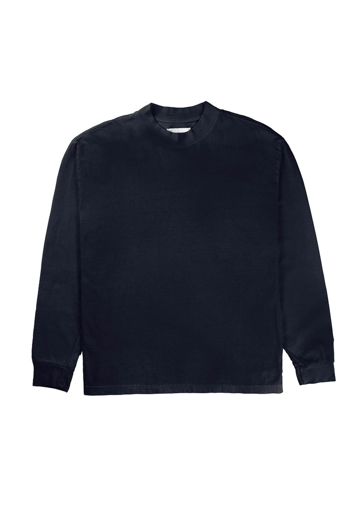 L8 Night Mock Neck - Navy