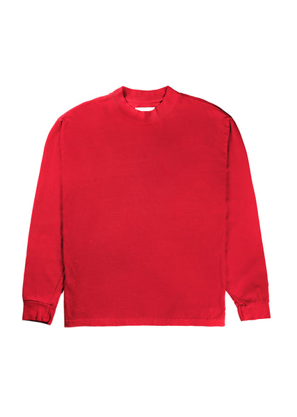 L8 Night Mock Neck - Red