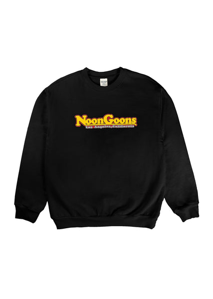 Pinned Crewneck - Black