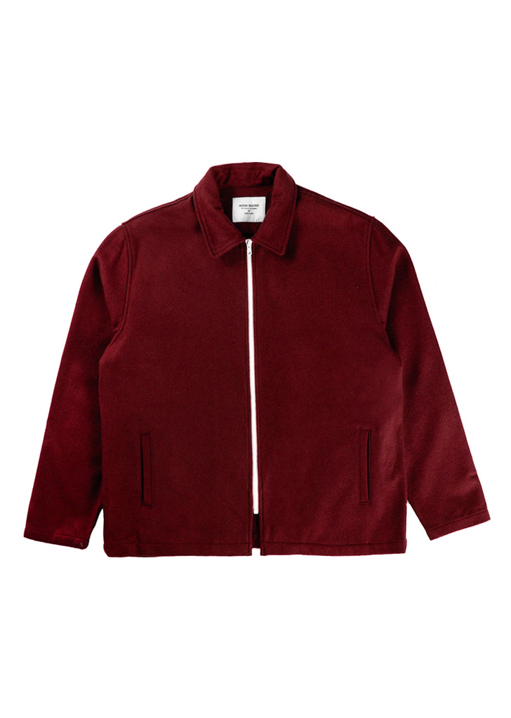 Cruiser Wool Jacket - Burgundy