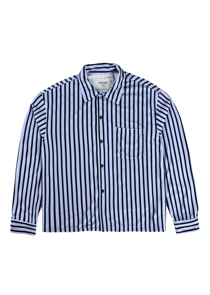 Luciano Shirt - Ice Blue / Navy