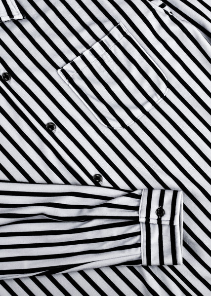 Luciano Shirt - White/Black