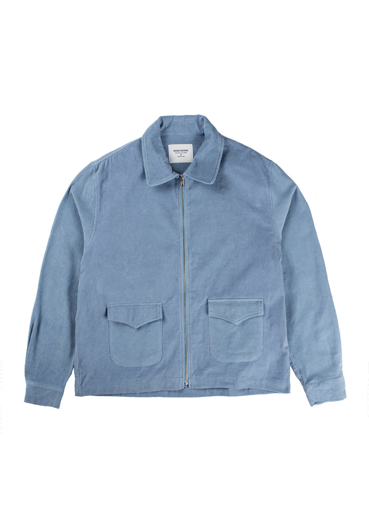 Catalina Cord Jacket - Cielo Blue