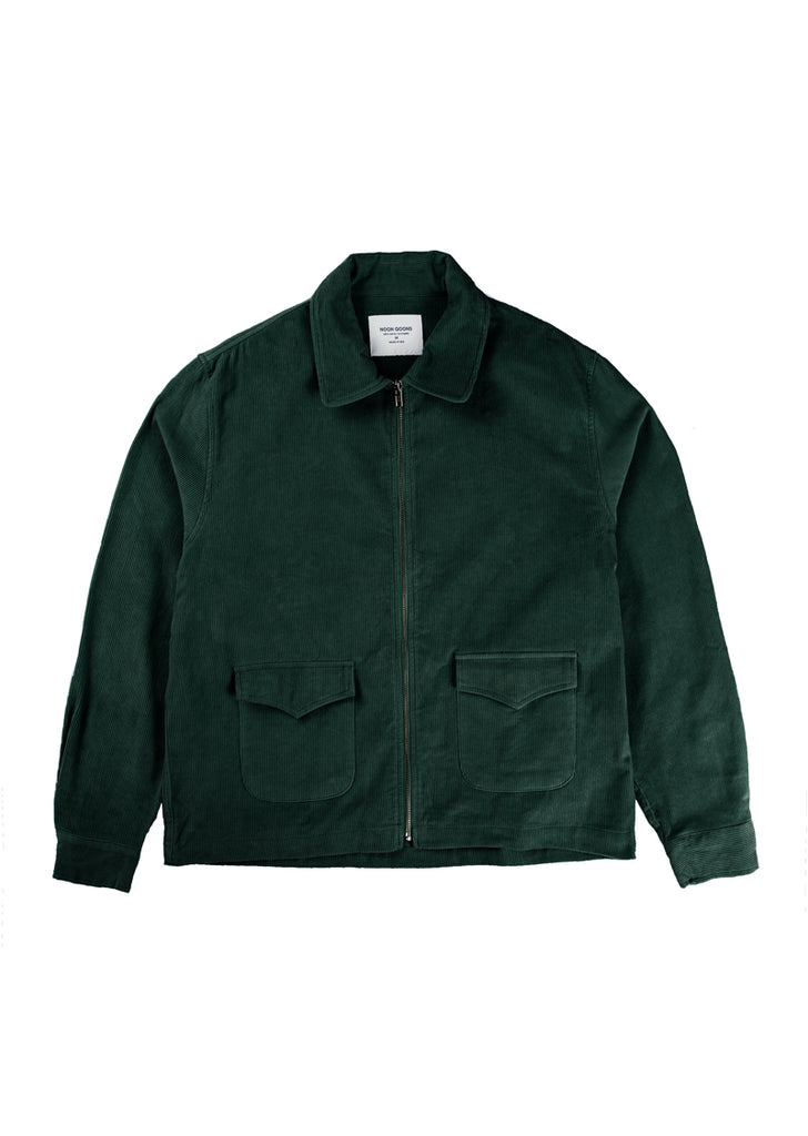 Catalina Cord Jacket - Forest