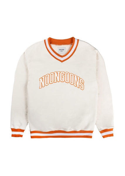 Dropout Varsity Sweatshirt - Off White