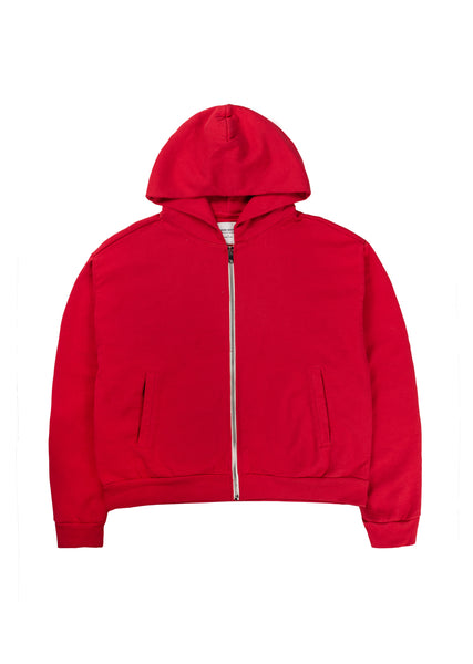 High Tide Zip Hoodie - Red