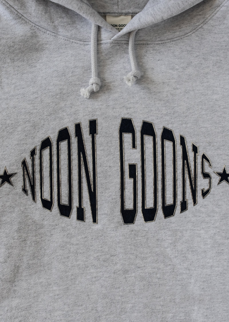 Team Logo Hoodie - Heather Grey