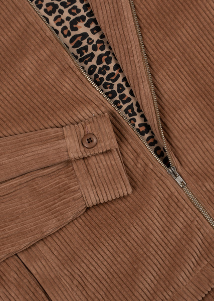 Countyline Cord Jacket - Carmel Brown
