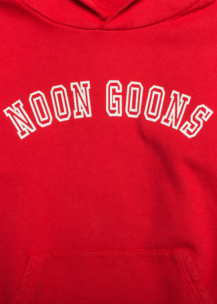 Noon Goons Varsity Sweater Red