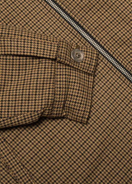 Wool Club Jacket - Houndstooth