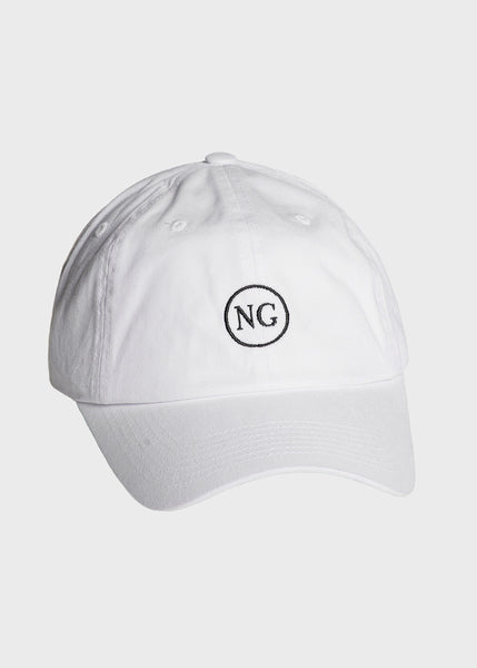 Simple Hat White/Black