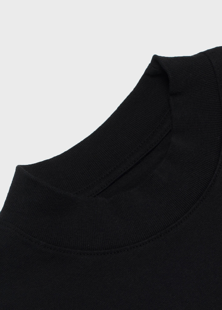 L8 Night Mock Neck - Washed Black
