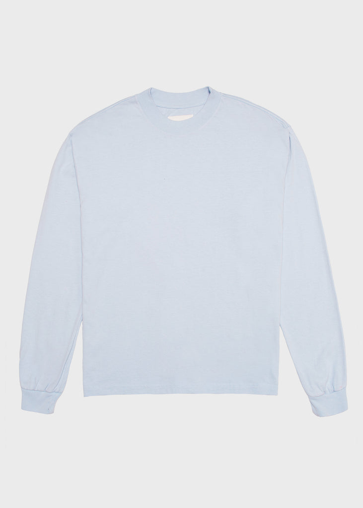 L8 Night Mock Neck - Sky Blue
