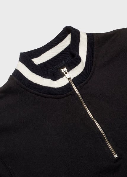 Court Pullover Washed Black