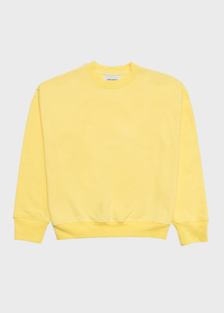 Icon Sweatshirt Pale Yellow