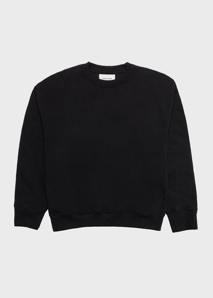 Icon Sweatshirt Washed Black