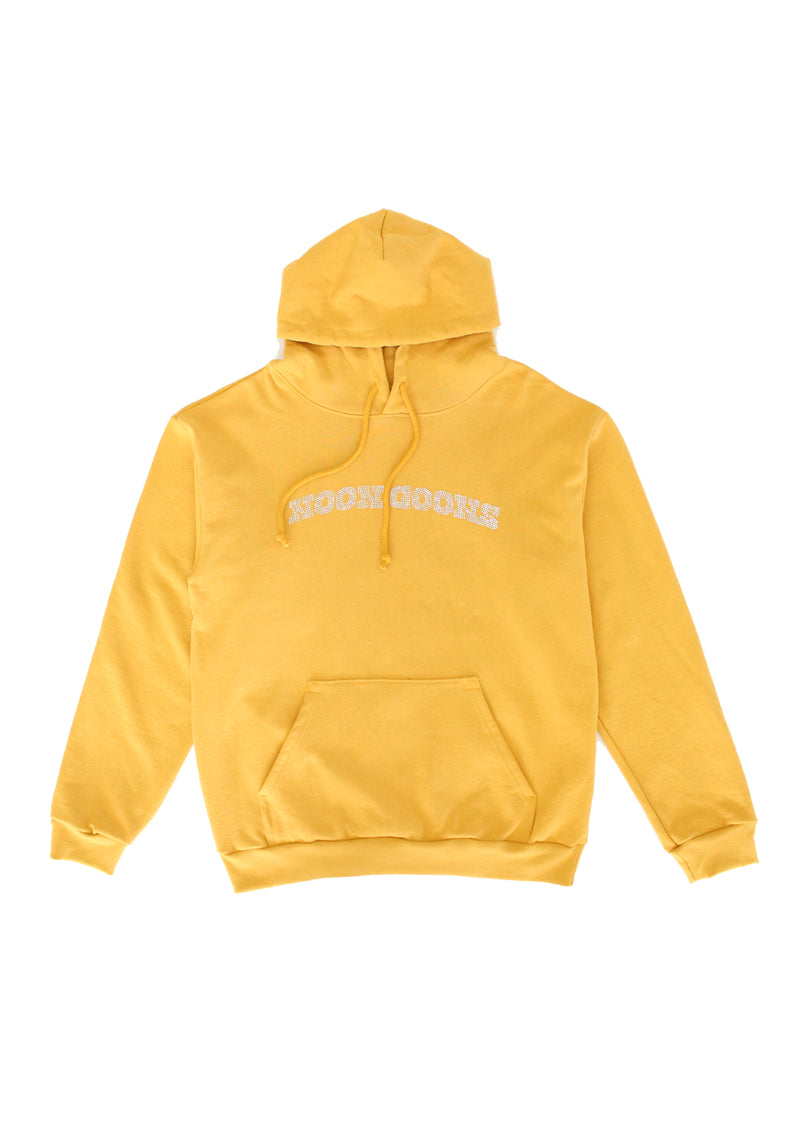 Drip Diamond Hoodie - Golden Brown