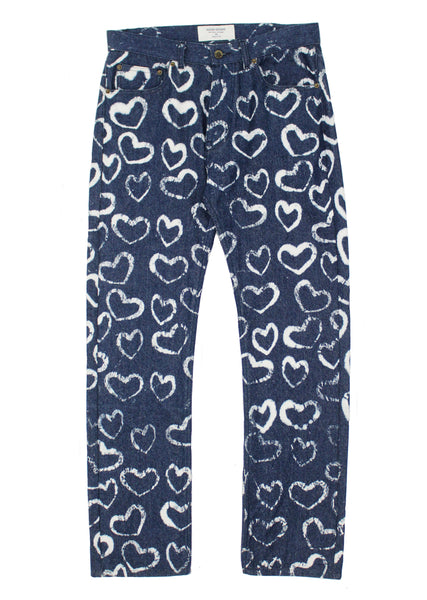Hearts Denim Pants