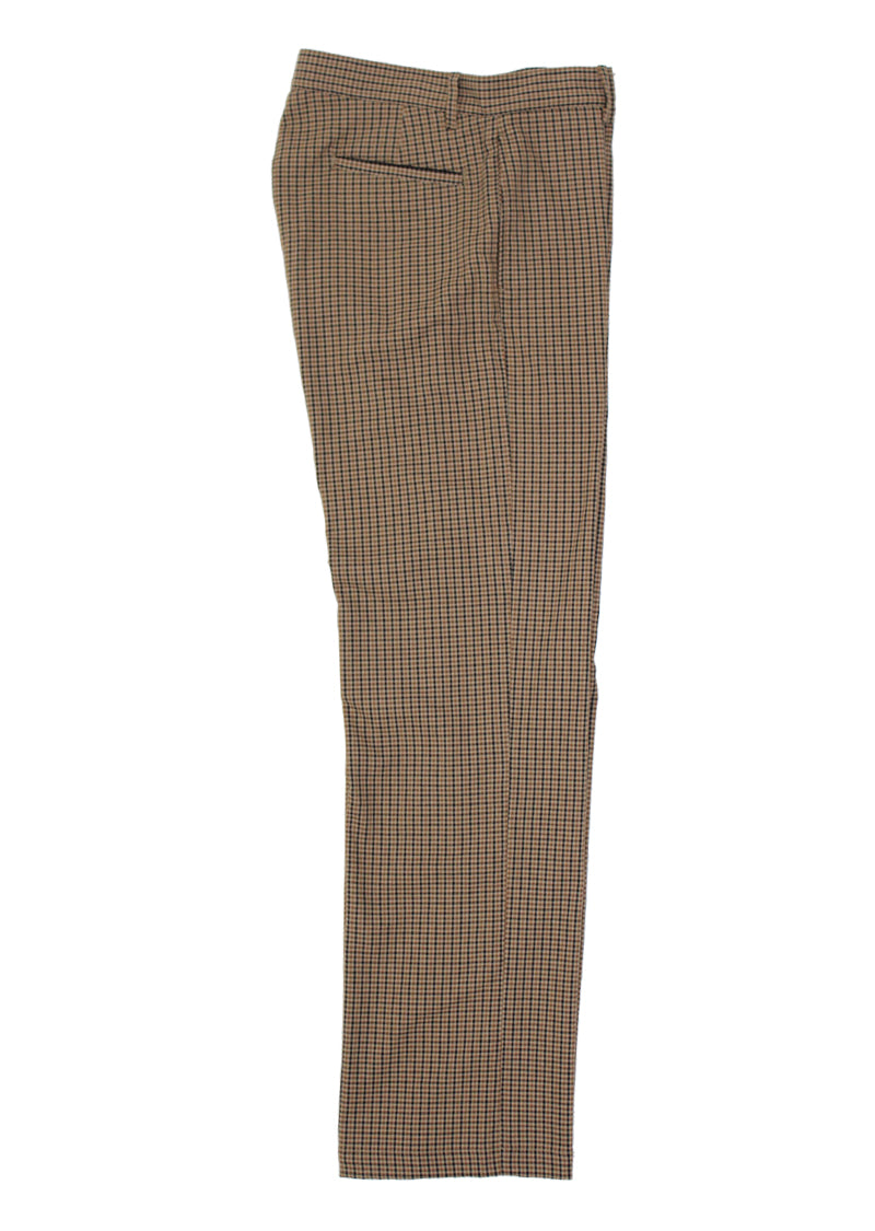 Jones Pants - Beige Check