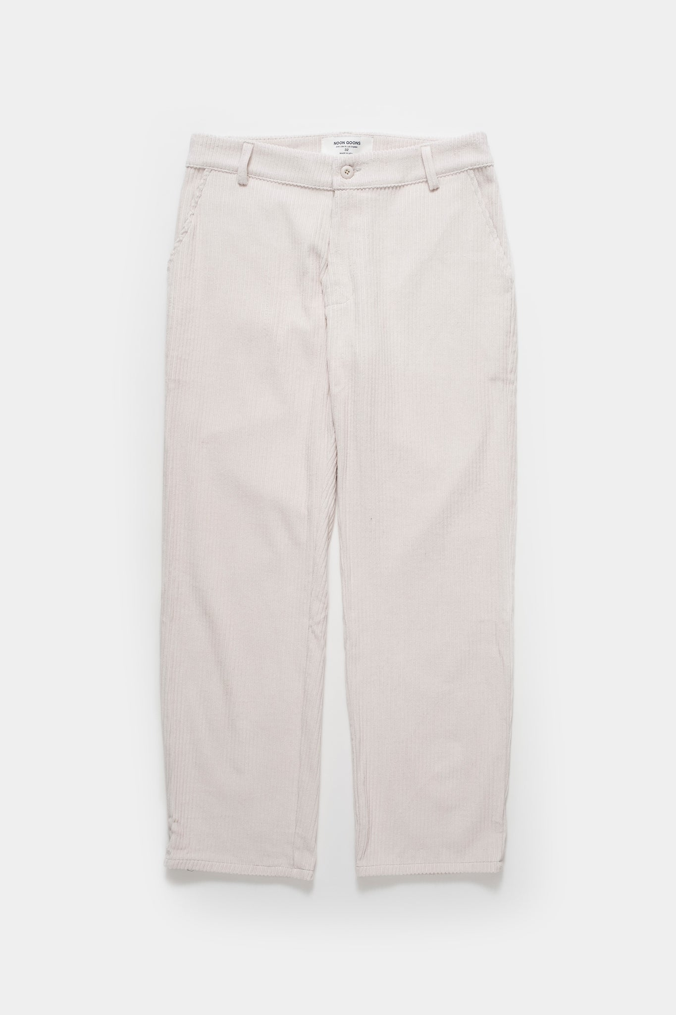 Corduroy Pant - Off White