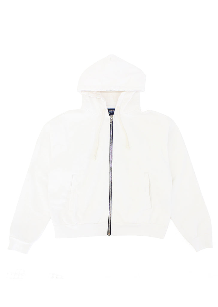 High Tide Zip Hoodie - Off White