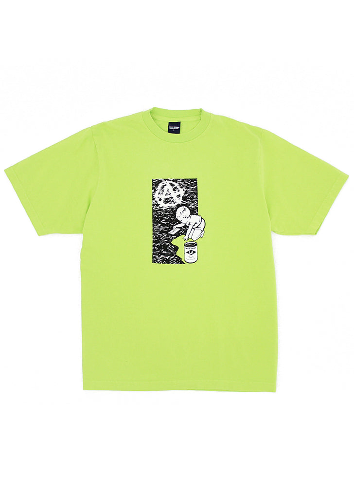 Foundation Tee - Bright Green