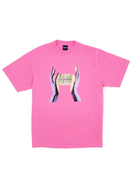 Safe Hands T - Bright Pink