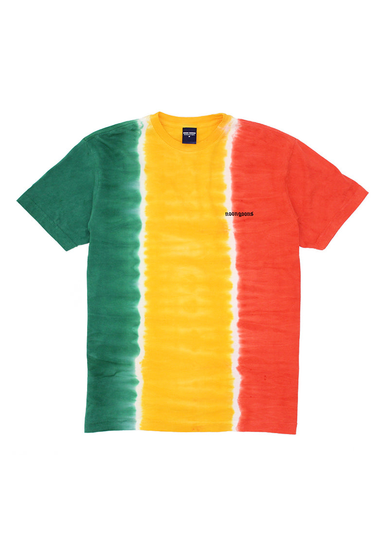 Jah Dye T-Shirt - Green/Yellow/Red
