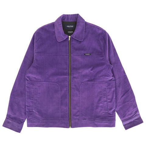 Miles Cord Jacket - Purple