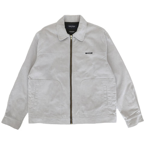 Miles Cord Jacket - Silver