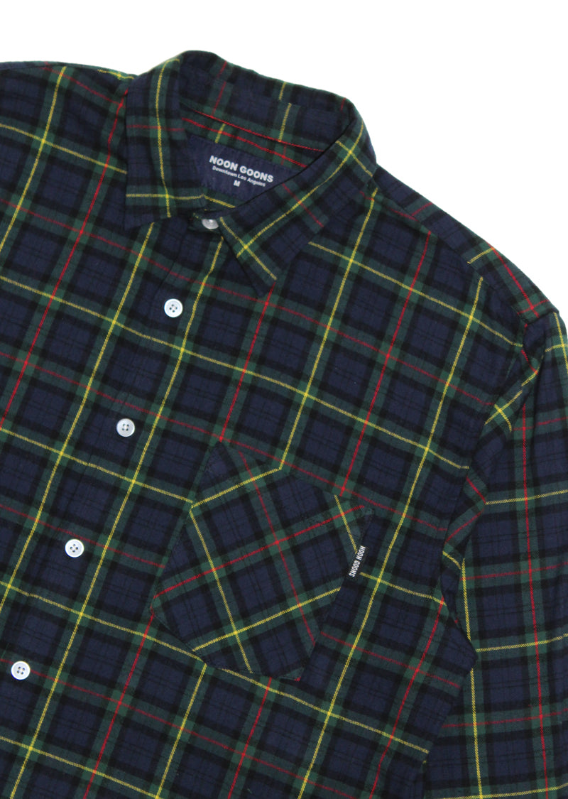 Sect Shirt - Navy/Forest