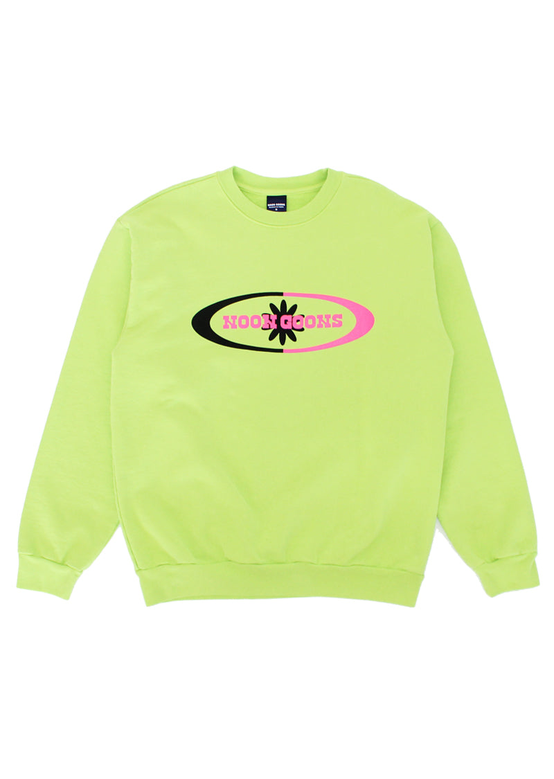 Orb Sweatshirt - Bright Green