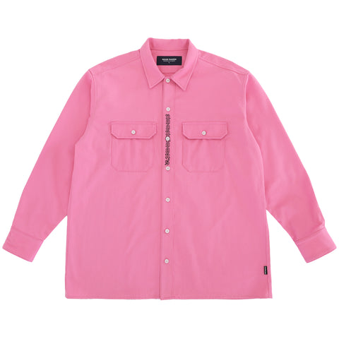 Johnnys Workwear Shirt - Pink