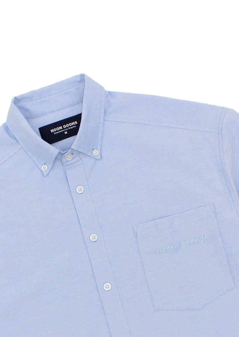 The Simple Oxford - Light Blue
