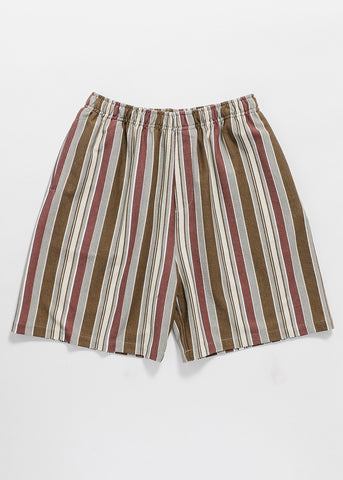 Stripe Elastic Short