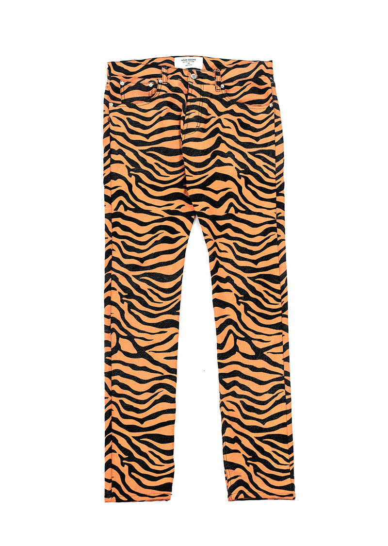 Suburbia Denim Pant - Tiger